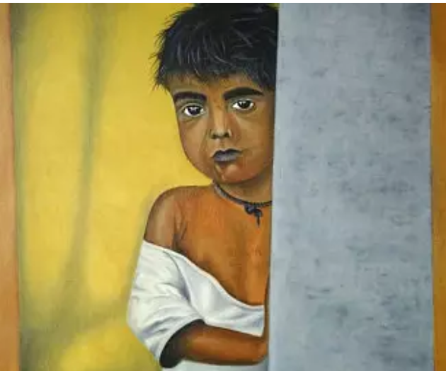 धुंधली सच्चाई: ठिठुरती ठंड में बिलखती भूख एक अनोखी कहानी