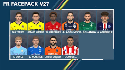 PES 2017 Facepack V27 by FR Facemaker
