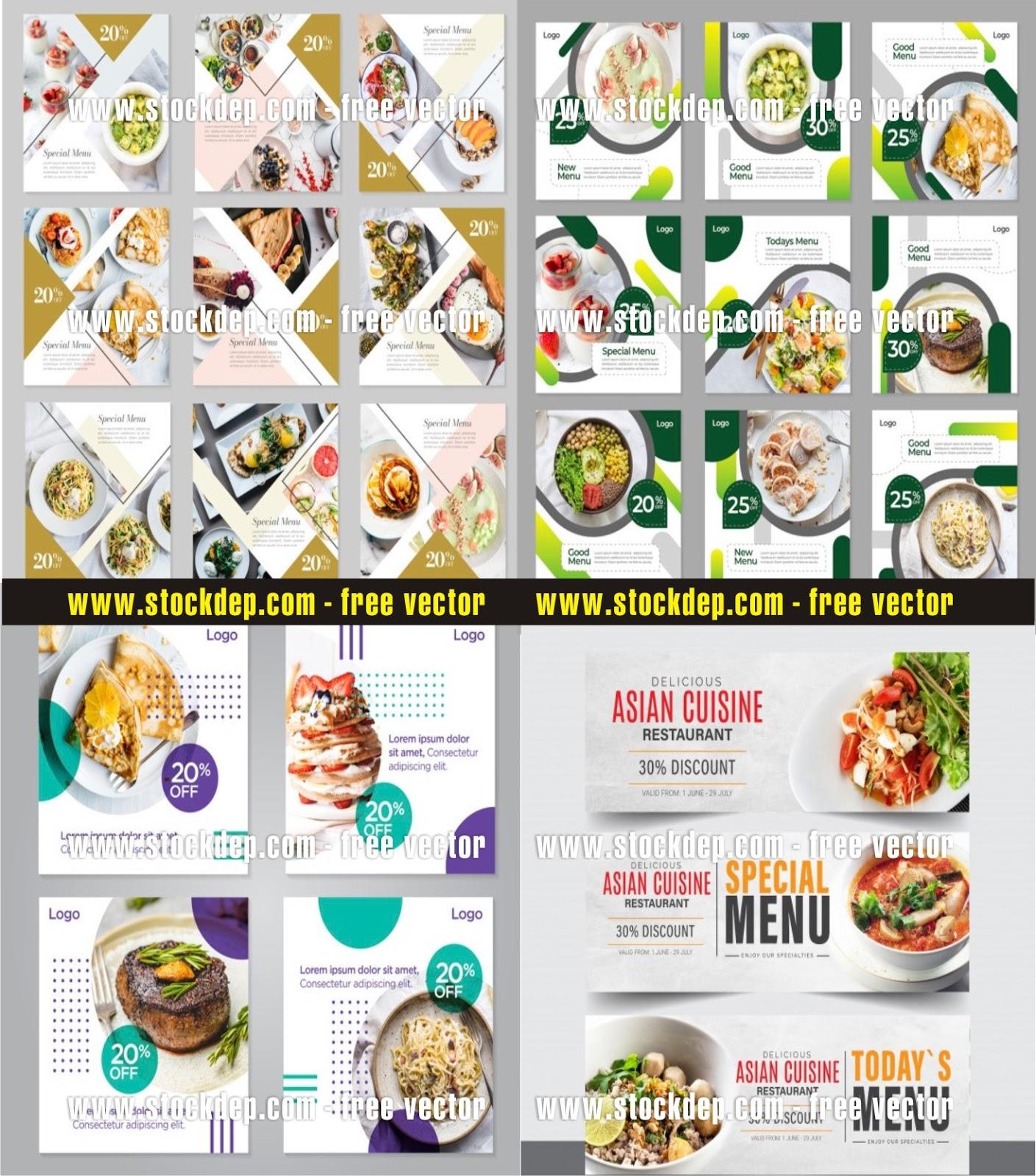 Tổng Hợp các mẫu menu món ăn thực đơn nhà hàng cực đẹp