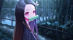 Nezuko - Kimetsu no Yaiba 2560x1440 [Wallpaper Engine Anime]