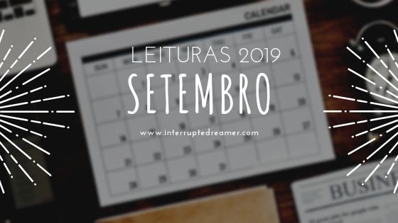 Leituras de Setembro 2019
