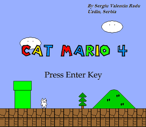 Download Cat Mario 4 Full Version Game PC Ringan
