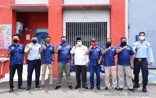 Komisi I DPR Aceh Kunjungi Lapas dan Rutan, Protokol Kesehatan Tetap Dilakukan