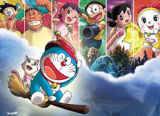 Gambar Doraemon dan Teman Teman nya 2