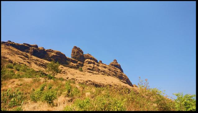 Irshalgad fort