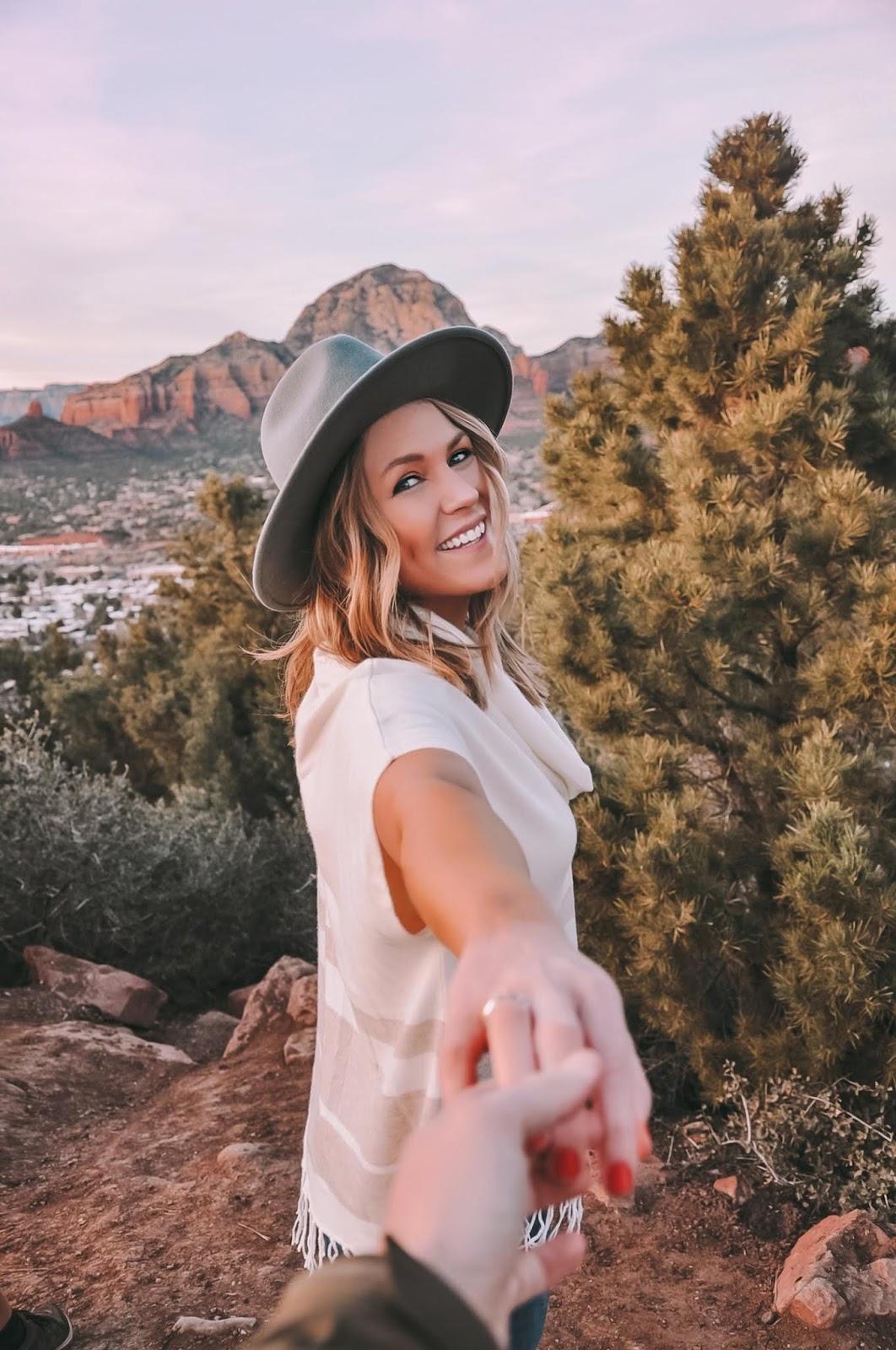 Oklahoma blogger Amanda Martin of Amanda's OK explore Sedona, Arizona
