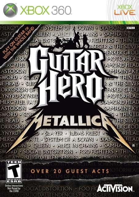 Guitar Hero Metallica [Jtag/RGH] - Download Game Xbox New Free