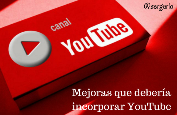 YouTube, mejoras, video, videomarketing