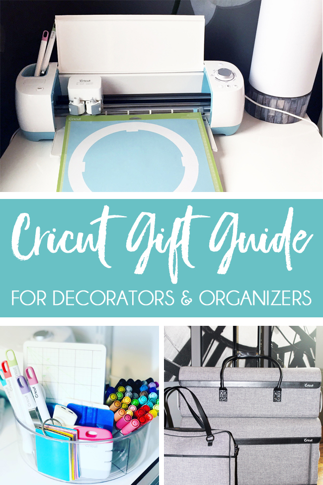 Cricut Gift Guide for home decor and organizing