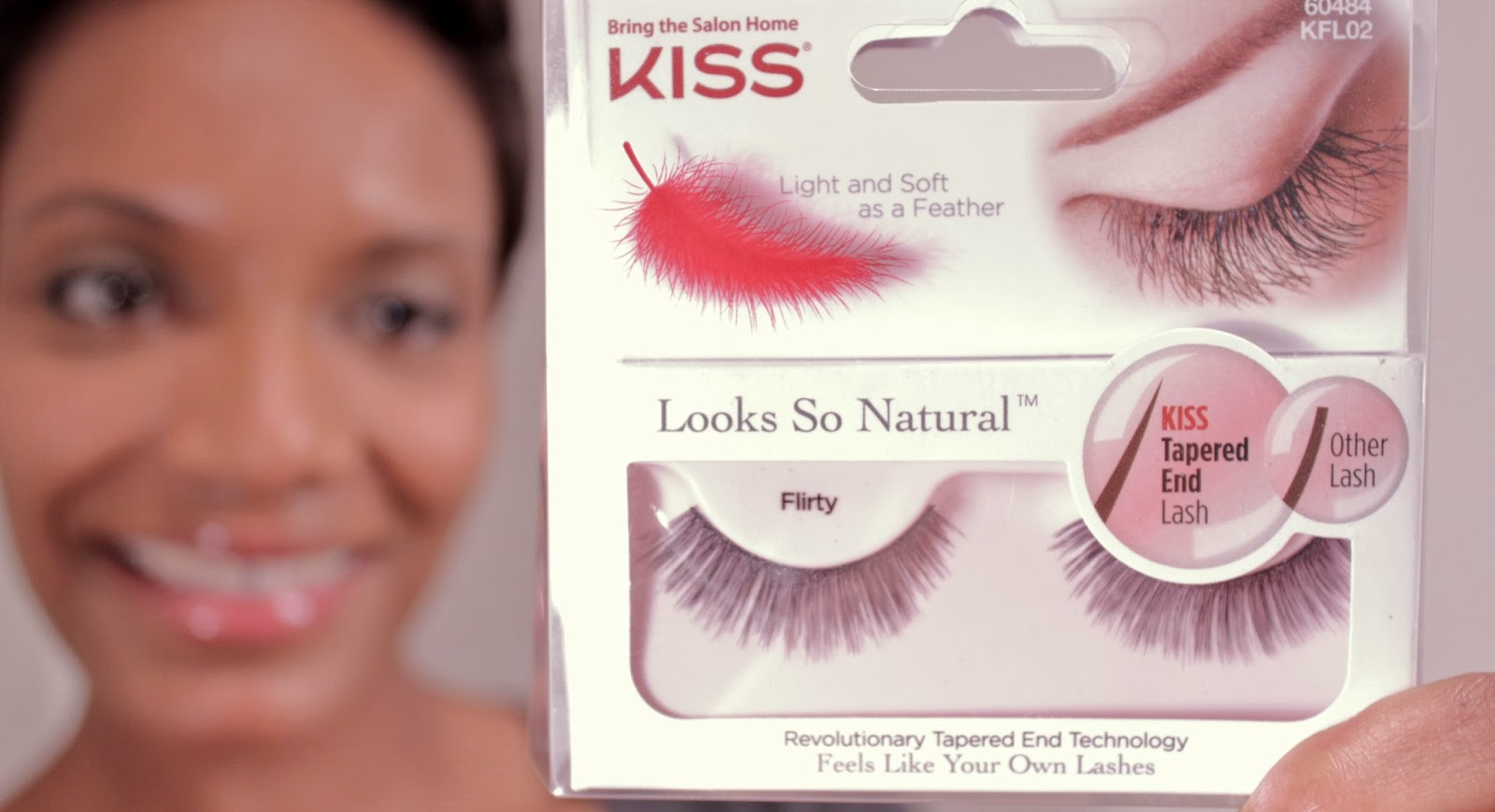 KISS Looks So Natural Flirty Lashes - No.#60484 (KFL02)