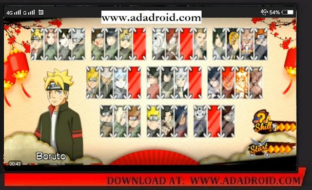 Download Naruto Senki Mod Strom Generation 2 Apk