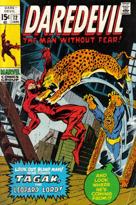 Daredevil #72, Tagak the leopard man