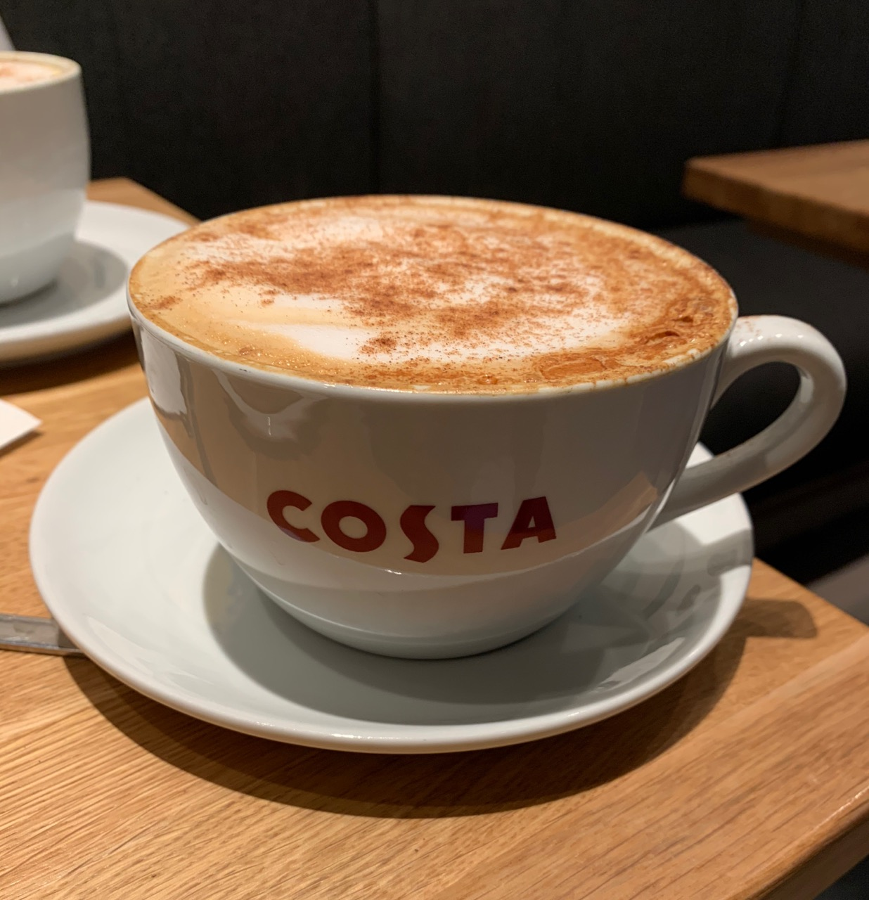 Foodstuff Finds Christmas Spiced Cappuccino Costa By At Cinabar