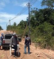 Concorrência desleal - Cabos de fibra óptica da Vitorino Net estão sendo cortados de propósito em Pedreiras, Lago da Pedra e Trizidela do Vale
