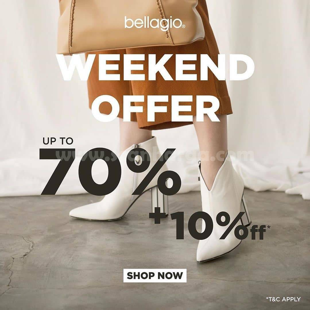 Bellagio Promo Weekend Offer Up to 70% + 10% Off