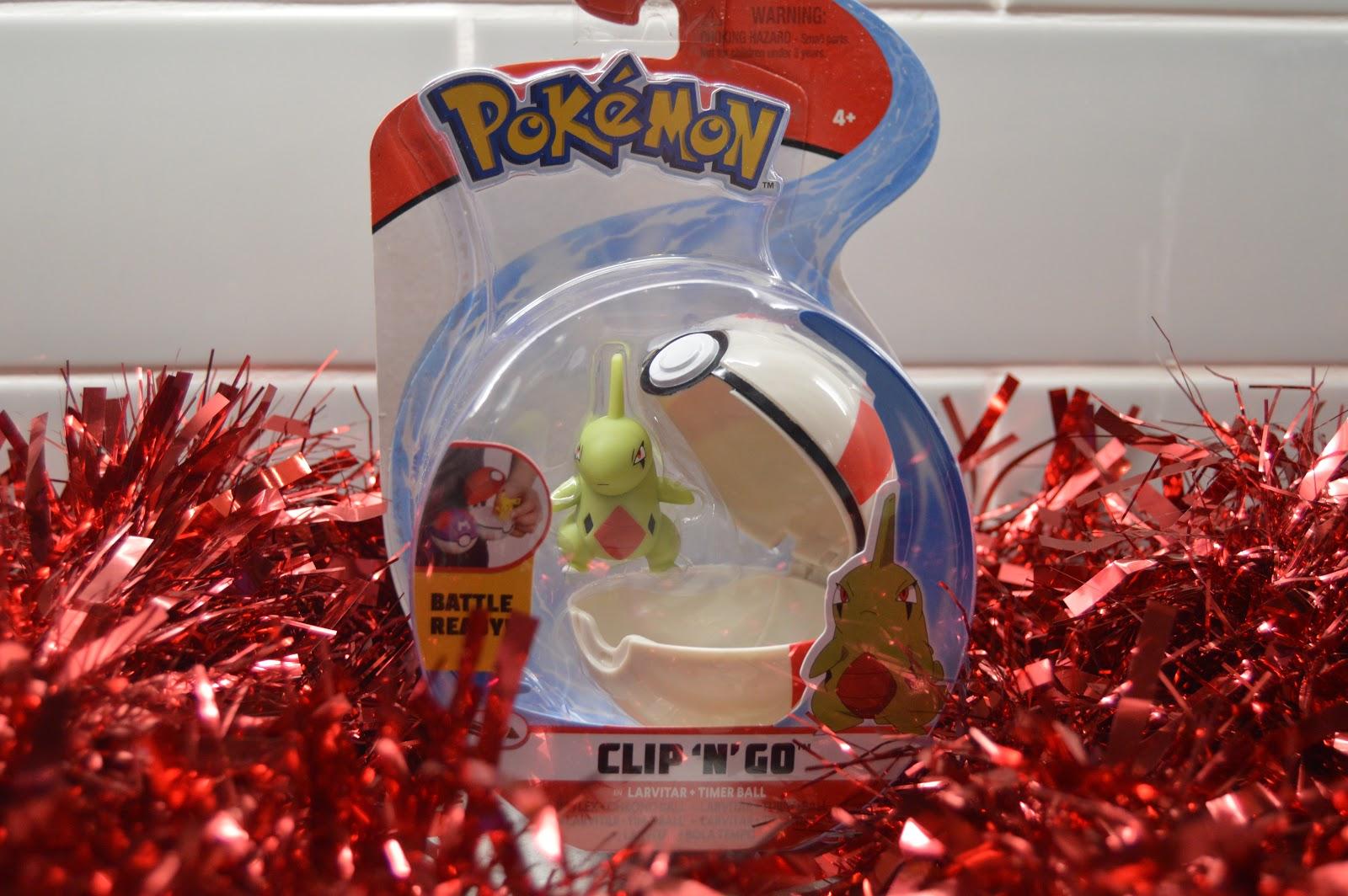 Pokemon clip and go
