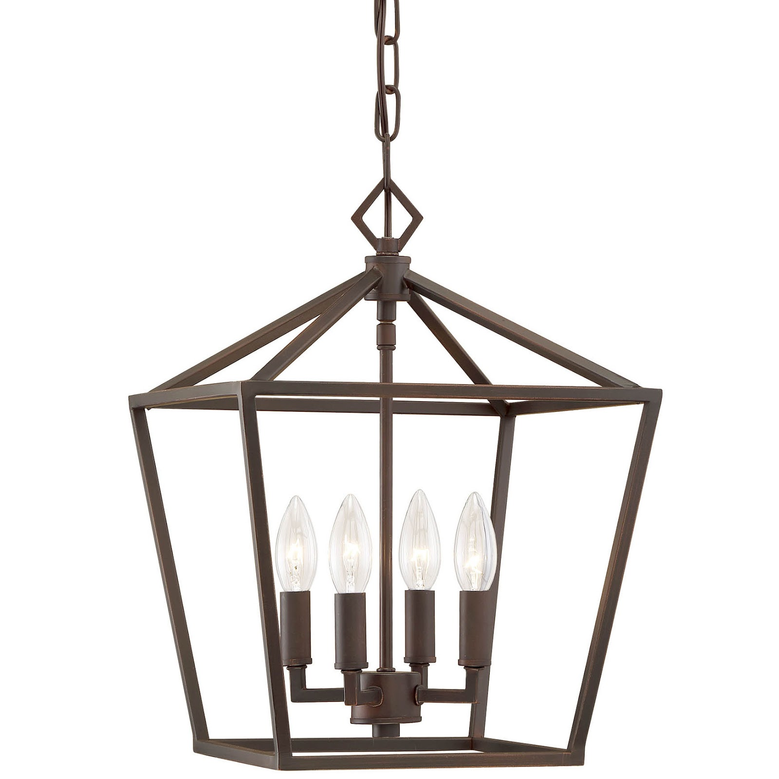 Classic tapered candle chandelier