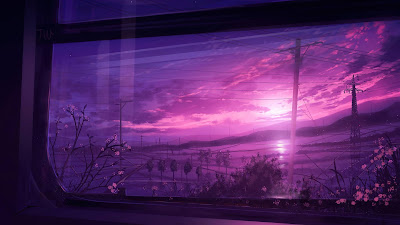 Wallpaper beautiful view from the window