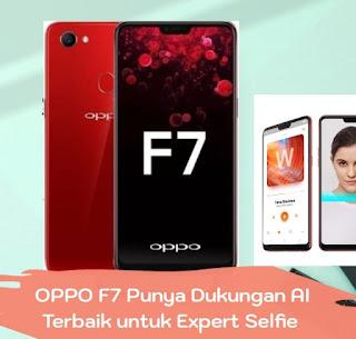 OPPO F7 Punya Dukungan AI Terbaik untuk Expert Selfie