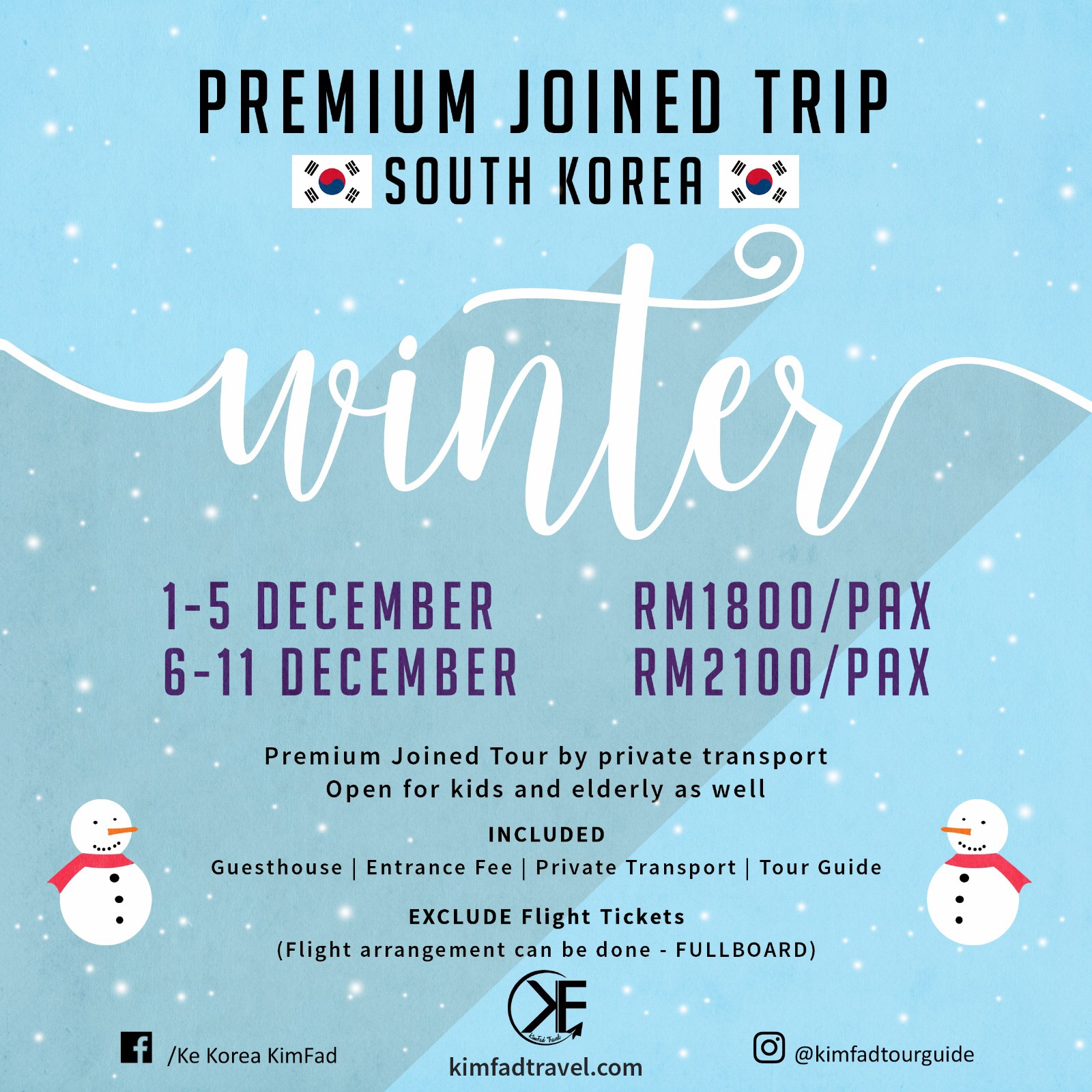 Winter Premium Joined Tour