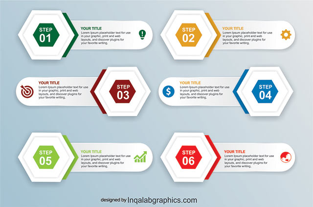 Free Business Infographics Templates CorelDraw Design Cdr file Download