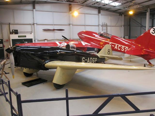1/144 Shuttleworth diecast metal aircraft miniature Miles Hawk
