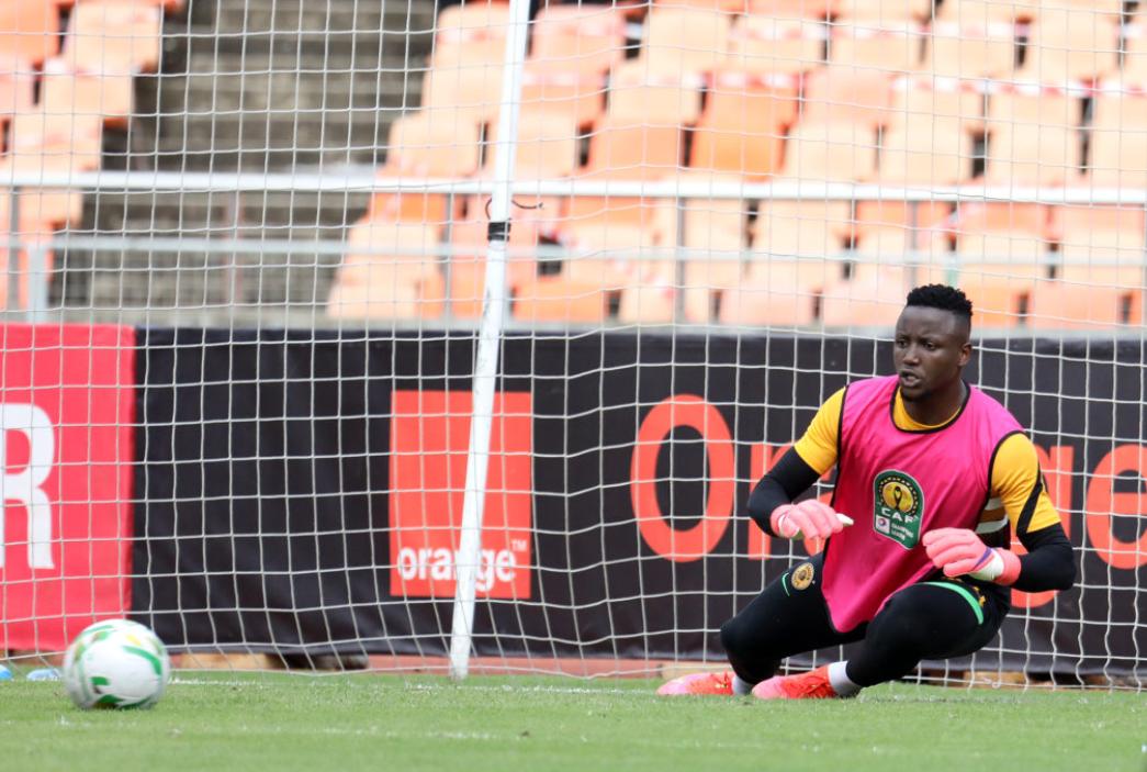 Kaizer Chiefs goalkeeper Bruce Bvuma