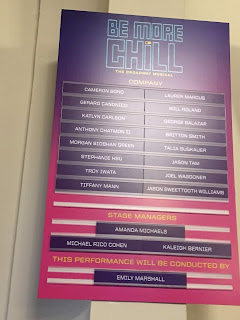 Be More Chill Cast Board Broadway