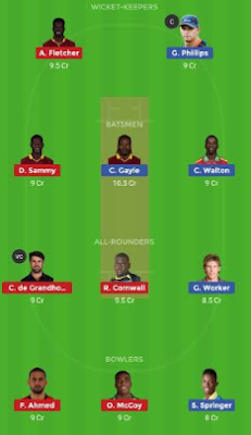 JAM VS SLZ dream 11 team | SLZ vs JAM