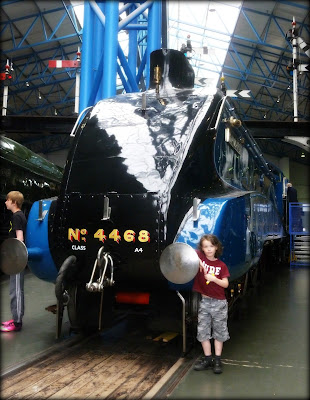 The Mallard at the National Railway Museum, York