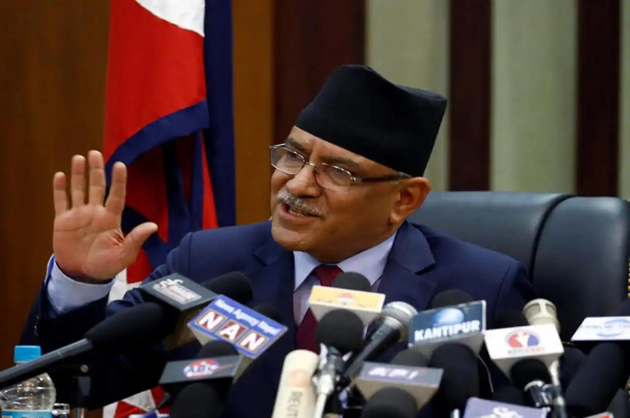 Former PM Prachanda of Nepal said - Democracy in danger here; The big democracies help us