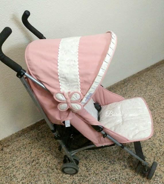 tapizado Maclaren Quest rosa beige