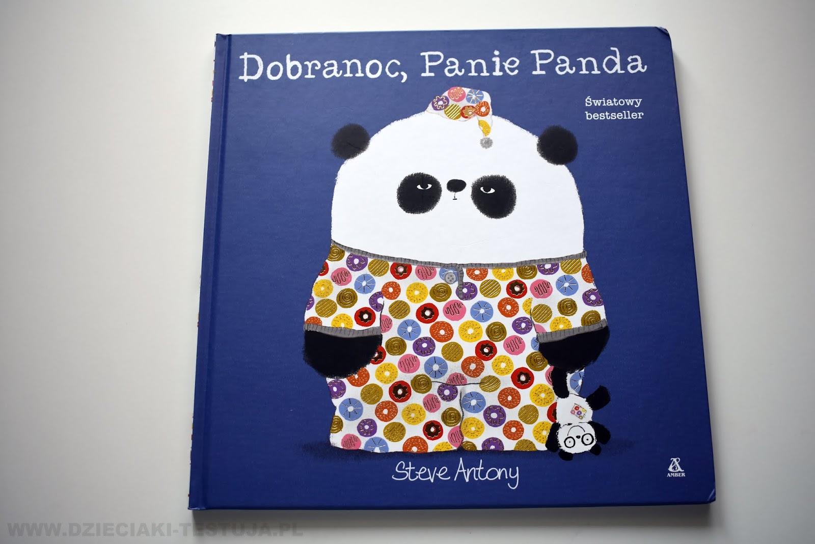 Dobranoc Panie Panda Książki Przed Snem Dzieciaki