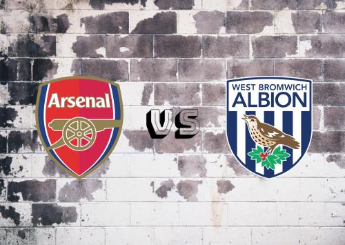 Arsenal vs West Bromwich Albion  Resumen y Partido Completo