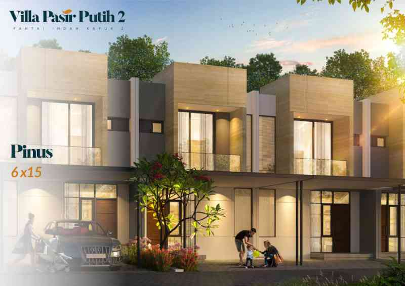 Villa Pasir Putih 2 Tipe Pinus
