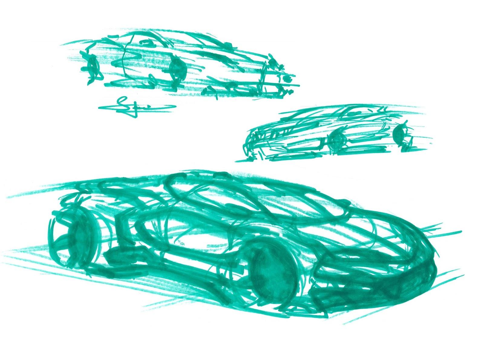 Simon Larsson - Sketchwall: Quick White Board Pen Sketches