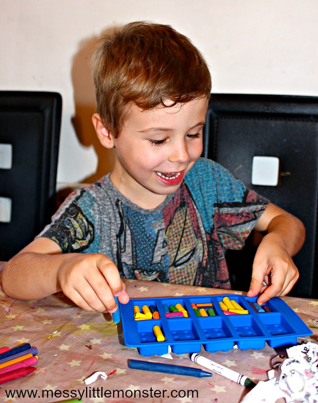How to make your own lego shaped crayons. Follow our easy DIY homemade crayon instructions to turn broken recycled crayons into new shapes. An easy kid made gift idea and fun book activity to go alongside 'The Day the Crayons Quit'.