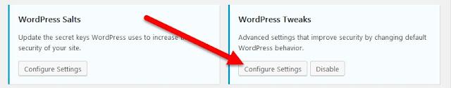 Configurar ajustes en el cuadro Ajustes de WordPress