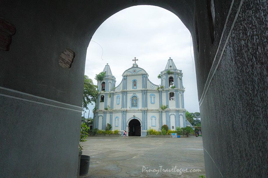 Namacpacan Church's facade