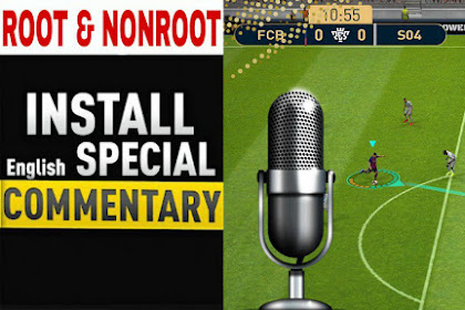 ENGLISH SPECIAL AMAZING COMMENTARY FOR PES 2019 MOBILE