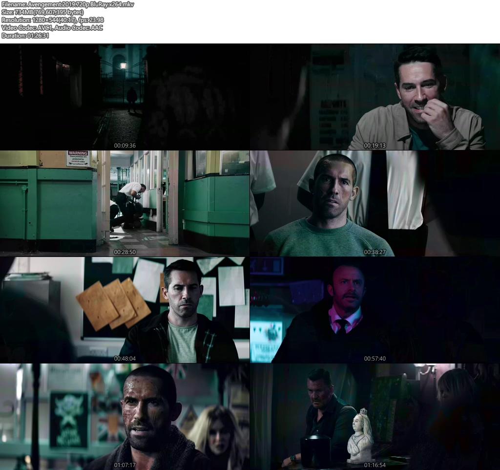 Avengement 2019 720p BluRay x264 | 480p 300MB | 100MB HEVC Screenshot