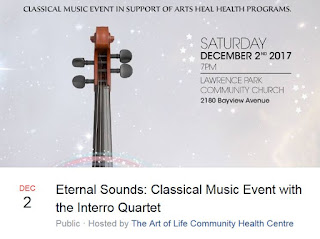 Eternal Sounds: Classical Music Event with the Interro Quartet, fb event