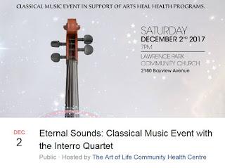 Eternal Sounds: Classical Music Event with the Interro Quartet, fb event