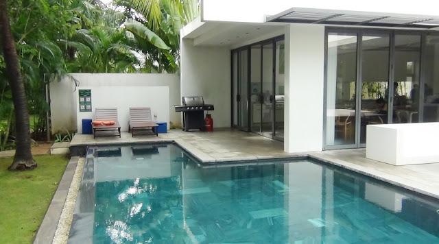 Mỗi biệt thự đều có 1 hồ bơi riêng