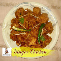viaindiankitchen - Chicken Ginger