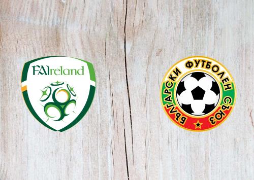 Republic of Ireland vs Bulgaria -Highlights 10 September 2019