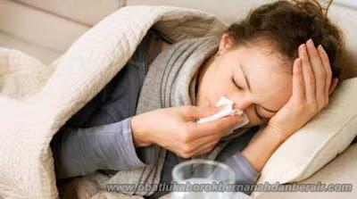 Cara Mengatasi Batuk Kering Disertai Flu Secara Alami
