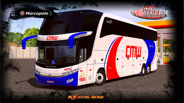 PARADISO G7 1600 LD - VIAÇÃO CMW TRANSPORTES