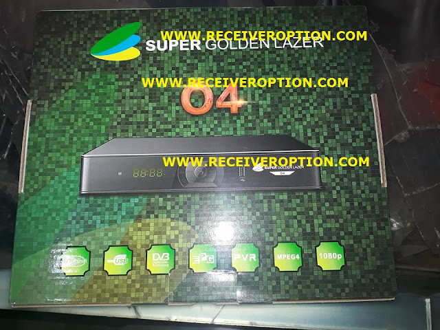HOW TO CONNECT WIFI IN SUPER GOLDEN LAZER O4 HD RECEIVER
