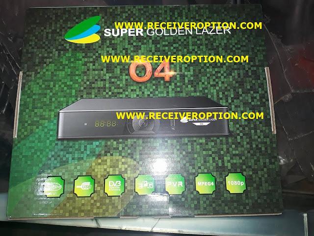 SUPER GOLDEN LAZER O4 HD RECEIVER CCCAM OPTION
